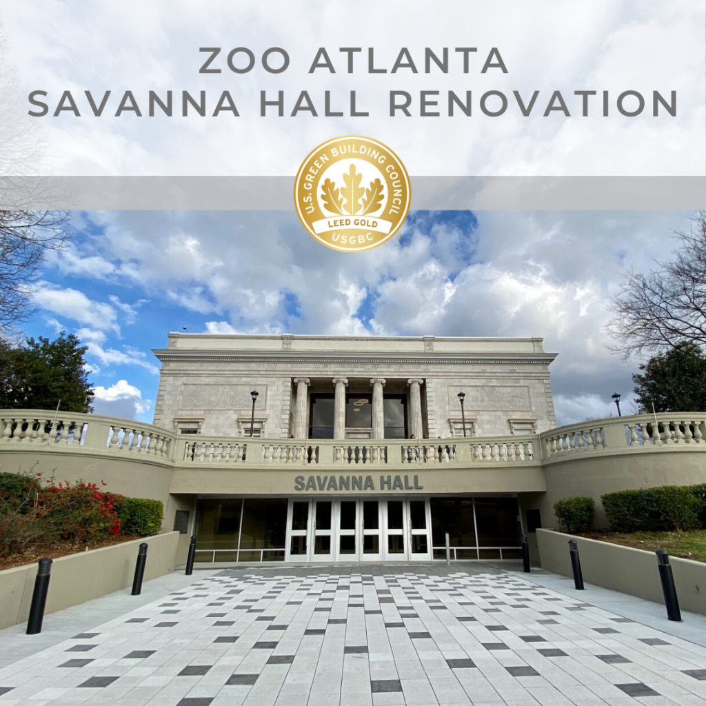 Zoo Atlanta Savanna Hall LEED Gold